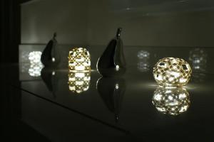 Mizuhiki lamp shade (水引)